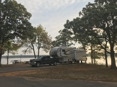 Lake Eufaula Campsite