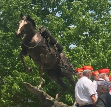 Sgt. Reckless Bronze Unveiling