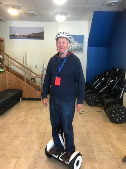 Segway Mini -Purchase Demo