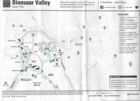 Dinosaur Valley State Park Map