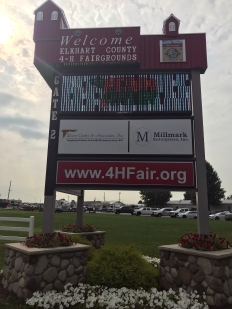 Rally Fairground Sign
