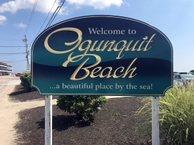 Ogunquit Beach Sign