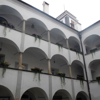 Landhaus Courtyard