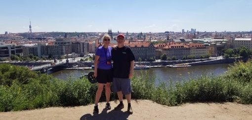Views of Prague from E-Bike Tour