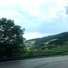 Scenic Bus Ride to Passau